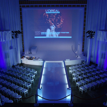 LP Fashion Event Miami Lighted Runway