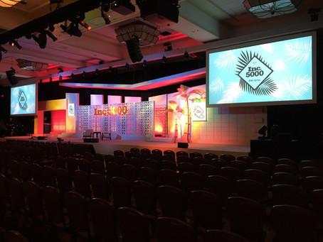 "Elation Satura Profile™, FLX™ ""great combination"" on 2017 Inc. 5000 Awards"