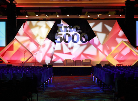 Artiste Picasso™ Heads Elation Package for 2018 Inc. 5000 Awards Gala