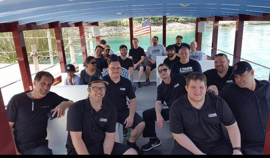 J. Thor Team Boat Tour