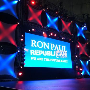 Ron Paul Political Rally