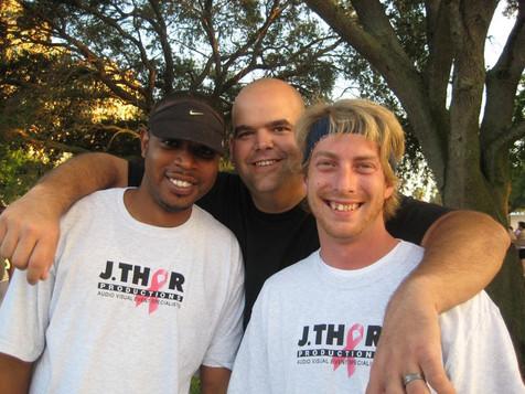 J. Thor Team Participating in Susan B. Komen 5k Cancer Walk