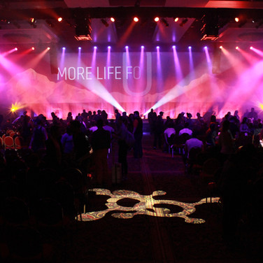 OTF Conference Using Wide LED Wall