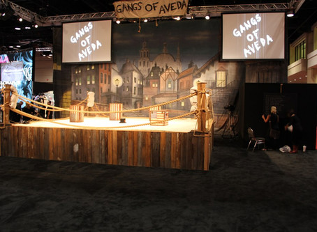 Aveda Channels 'Gangs of New York' for Bold Exhibit at Premiere Beauty Show