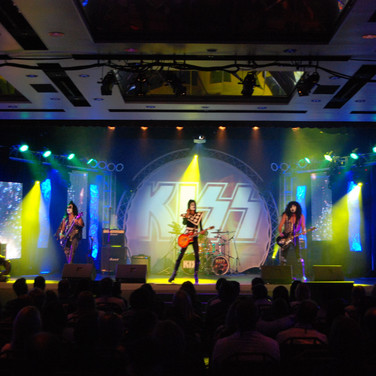 Kiss Tribute Circle Truss Stage Design