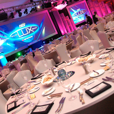 Conference Wide Screen Spandex Linen