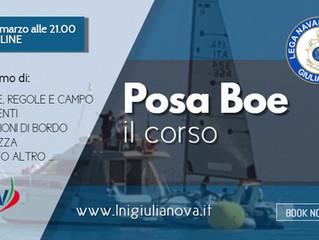 Corso Posaboe on-line