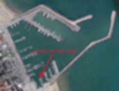 Mappa del porto di Giulianova
