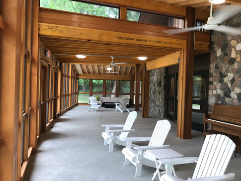 Tamarack Camps Staff Lounge.