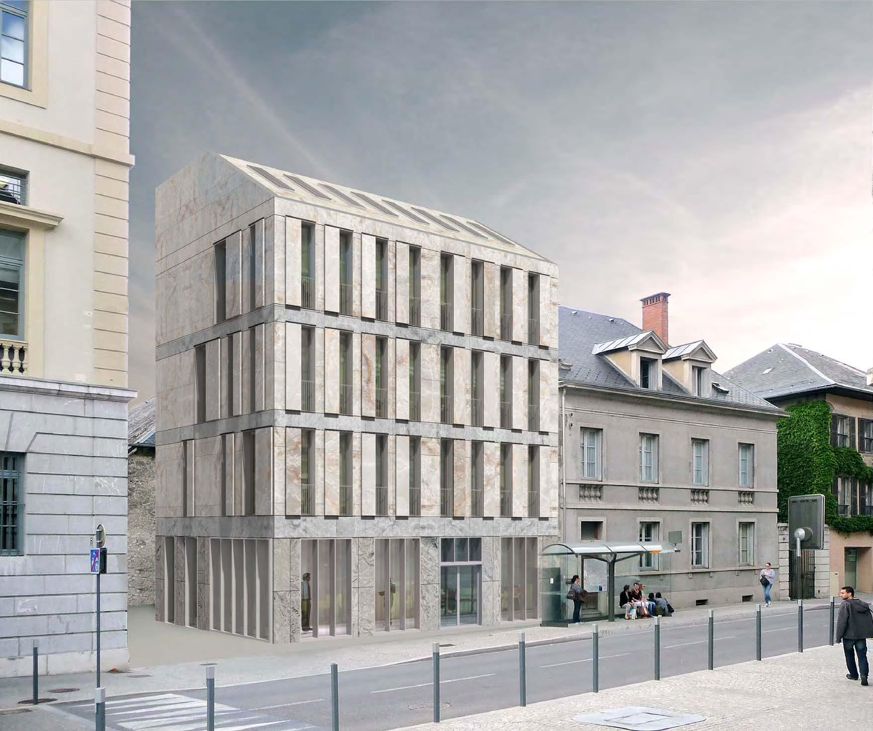 bureaux rue JP Veyrat