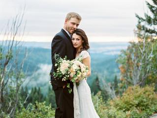 Spokane Mountain Wedding