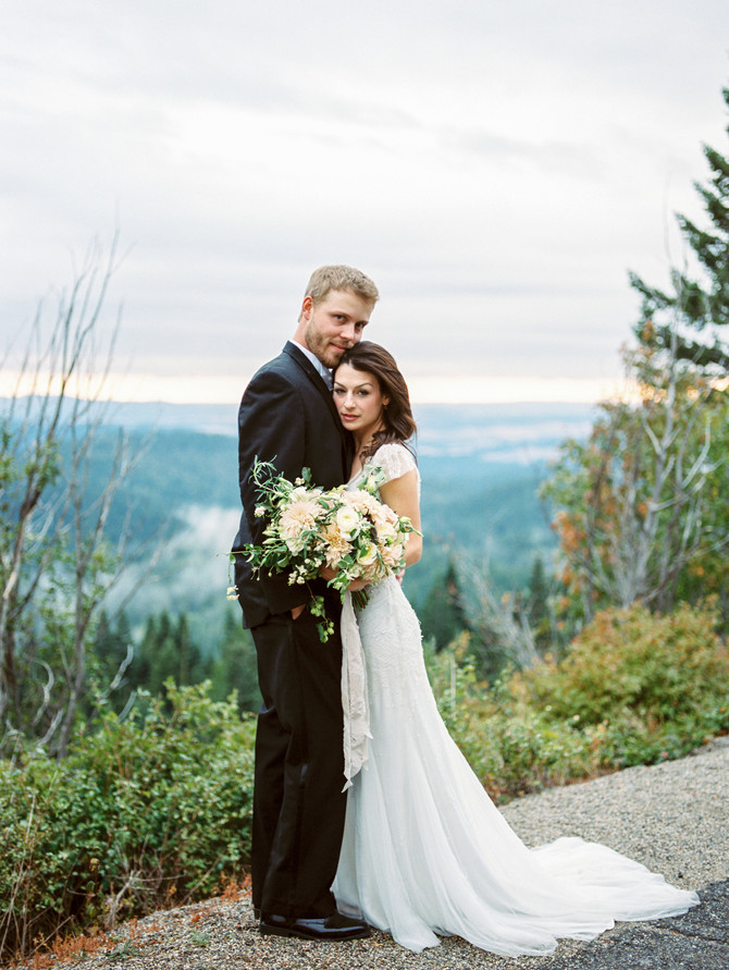 Spokane Mountain Wedding