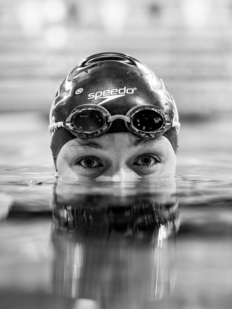 The University of Minnesota's Tevyn Waddell poses for a portrait in the Jean K. Freeman Aquatic center in Minneapolis on Dec. 10, 2018.