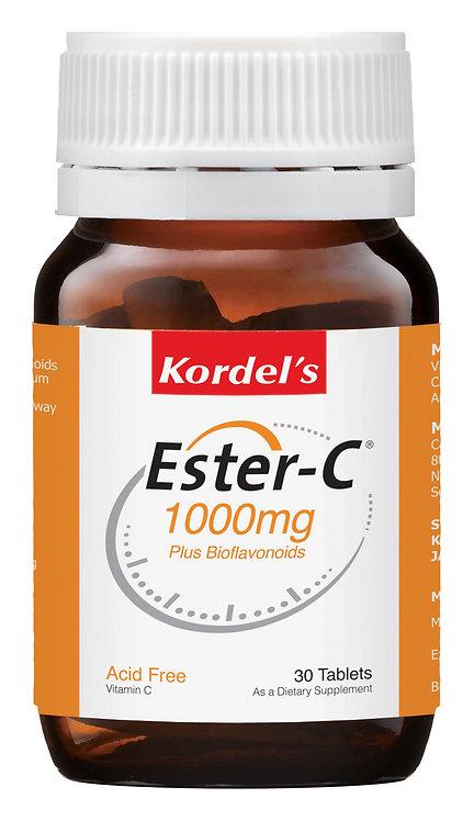Kordel's Ester-C® 1000mg Plus Bioflavonoids