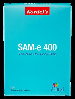 Kordel's_SAM-e Packaging_Front.png