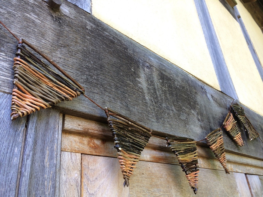 Willow Bunting Travelling Weaver Shropshire Willow Crafts and Courses