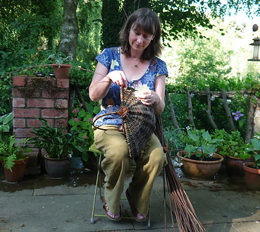 Sophie Francis Travelling Weaver Shropshire Willow Crafts and Workshops