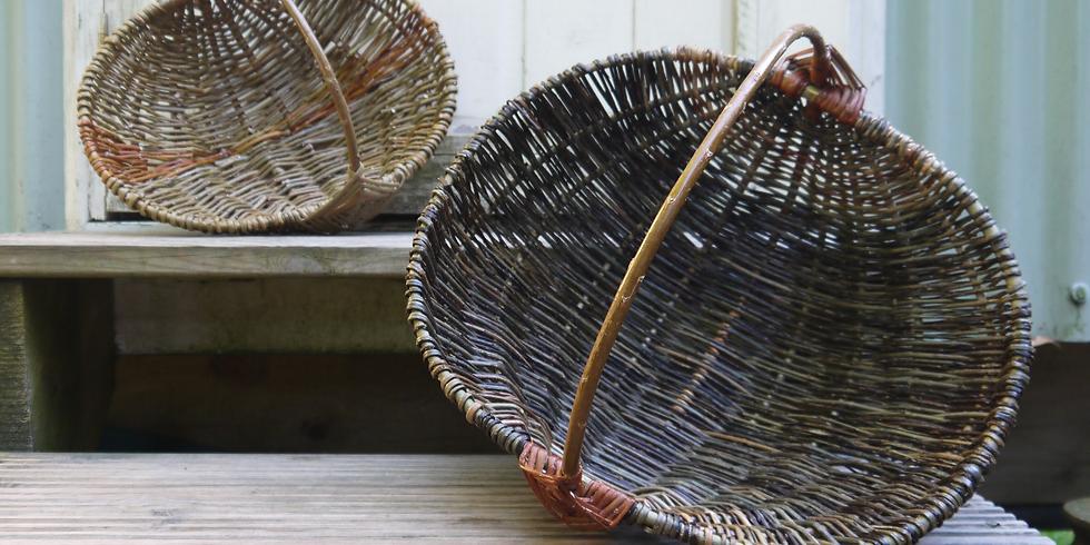 Weaving Demos and Basket Sales at Acton Scott