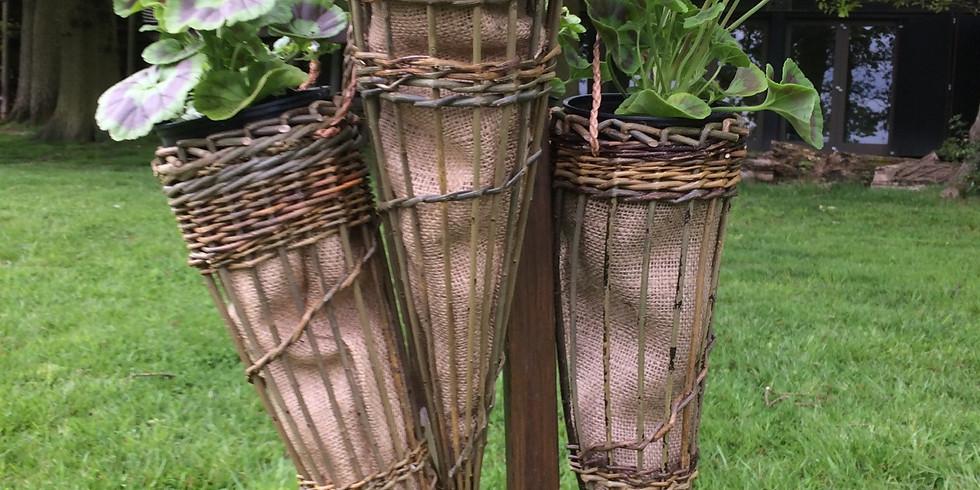 Hanging Willow Planter Workshop