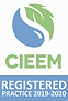CIEEM Registered Practice Logo 2019 hall ecology, bat survey yorkshire, bat surveys hull