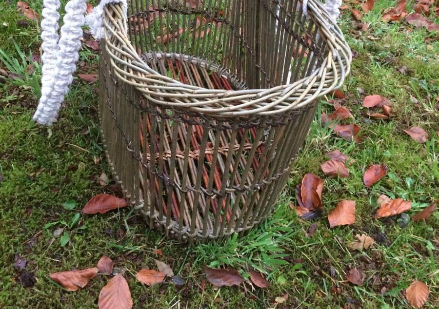 Travelling Weaver sophie francis basket