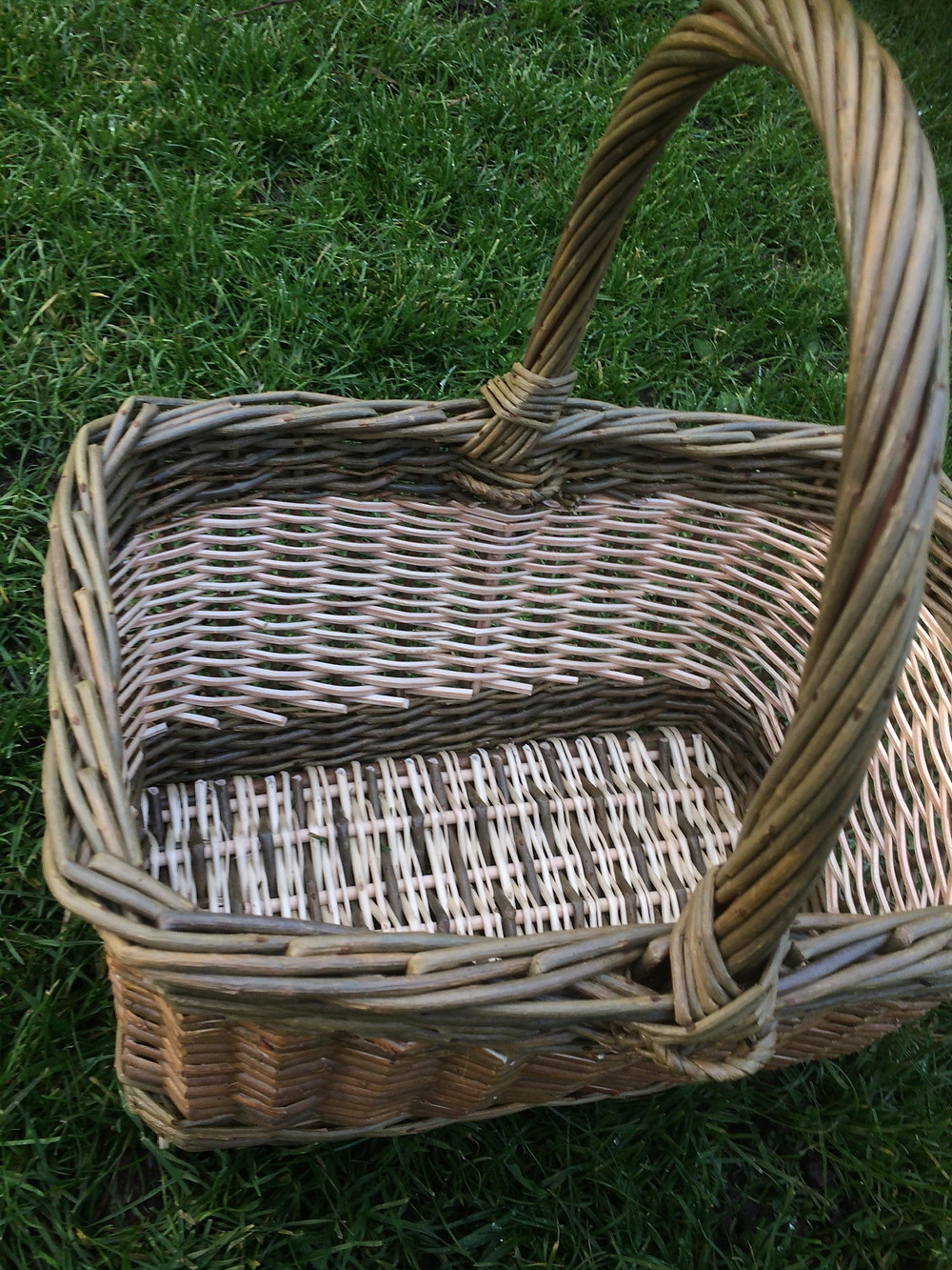 Square basket willow basketry shropshire travelling weaver city and guilds level 3 basketry