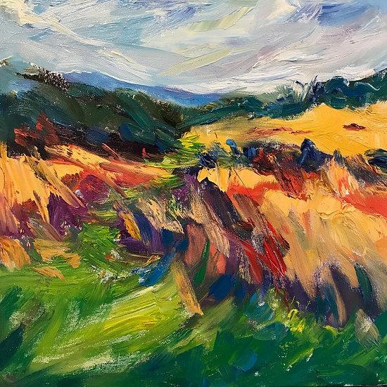 Windswept Moorland, Autumn