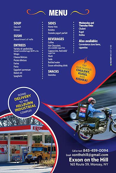 Exxon flyer