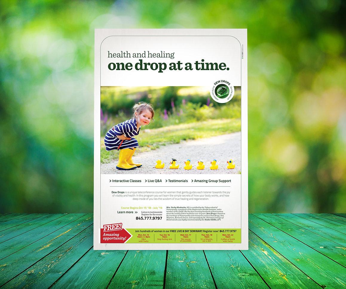 Dew Drops advertisement