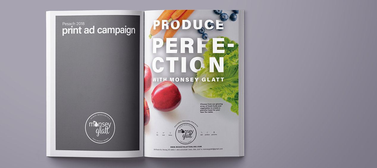 Monsey Glatt pesach ad - produce perfection