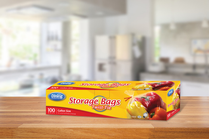 Dining Collection Food Storage Bags
