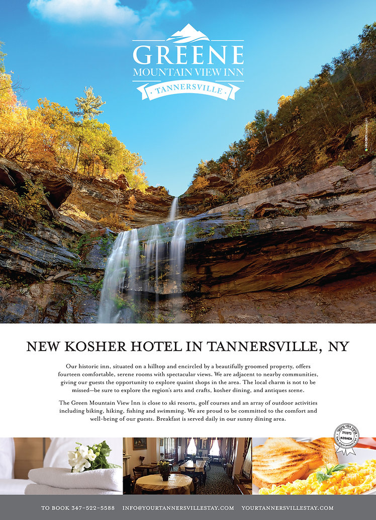Greene Mountain View Inn ad,  HighSky Creative