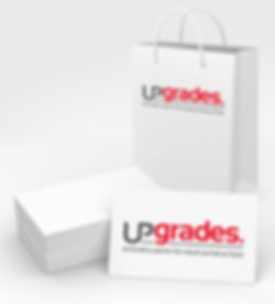 Upgrades logo by HighSky Creative