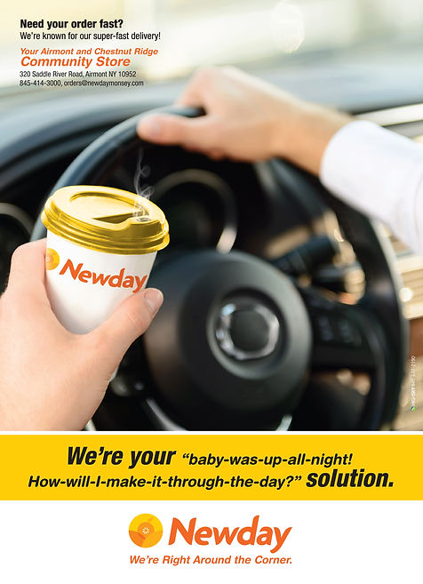 Newday ad by HighSky Creative