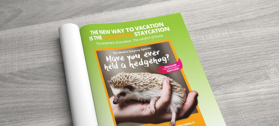 Animal Show Print Ad