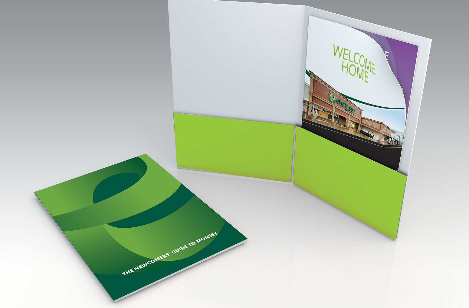 """Evergreen """"New to Monsey"""" Newcomer's Welcome Kit/Guide by HighSky Creative"""