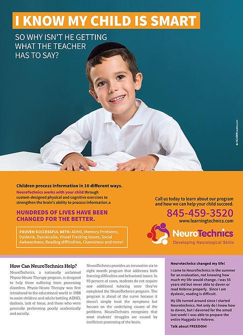 NeuroTechnics print ad by HighSky Creative