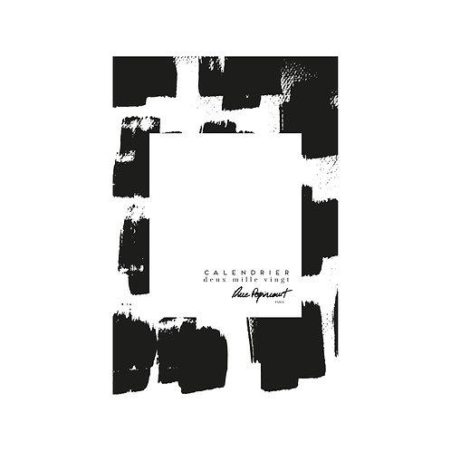 Calendrier 2020 Black&White