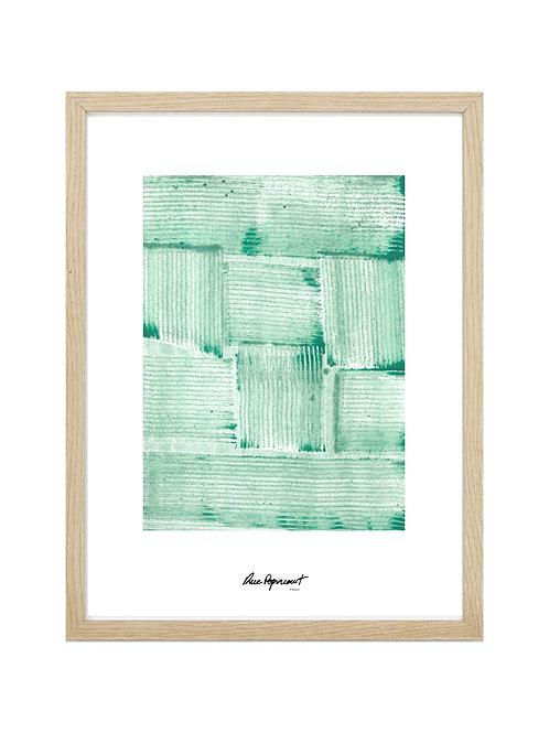 """Poster """"Chemin Vert"""" n°2"""