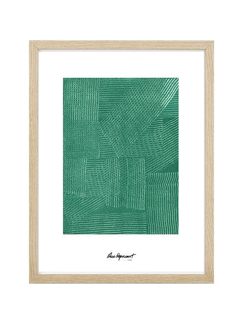 """Poster """"Chemin Vert"""" n°11"""
