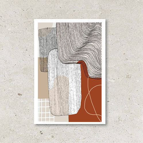 Carte Abstract n°8