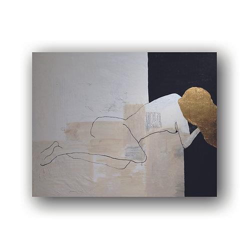 Tableau Femme Nue Allongée