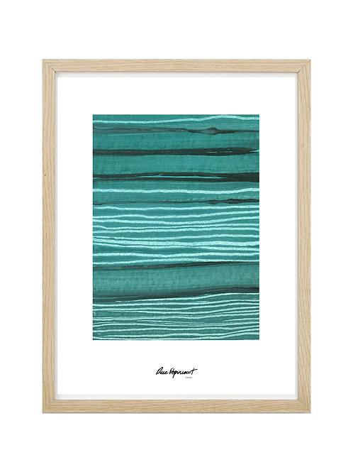 """Poster """"Chemin Vert"""" n°9"""