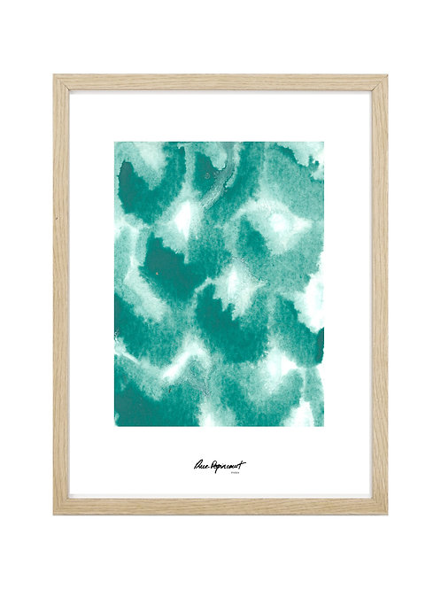 """Poster """"Chemin Vert"""" n°4"""