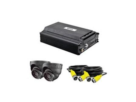 EPCOM (XMR400S/2CAM) Sistema Completo Móvil, XMR400S y 2 XMRDOME(Micrófono Inter