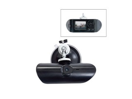 EPCOM (XMR100HD) DVR Portátil FullHD 1080p para Vehículo con Cámara Frontal 120