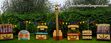 Vintage Fete Games Hire Package