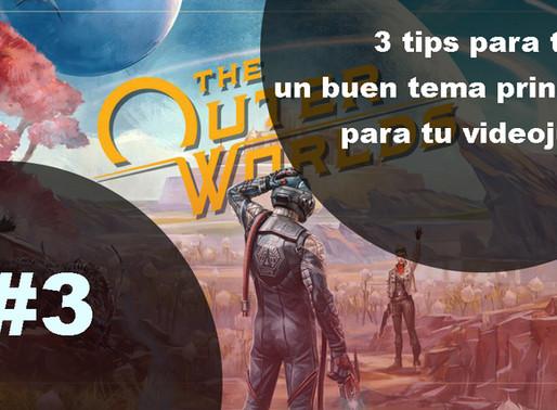 3 tips para tener un buen tema principal para tu videojuego