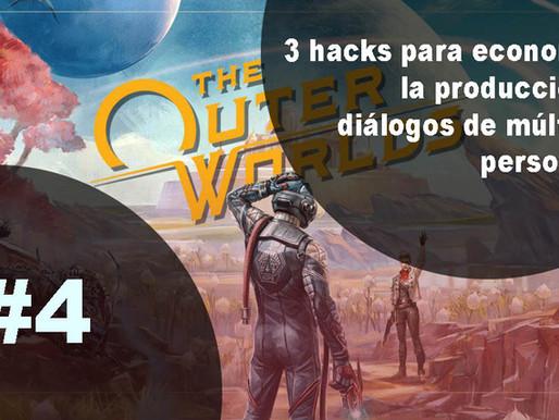3 hacks para economizar la producción de diálogos de múltiples personajes
