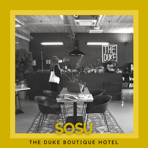 LET'S MEET: THE DUKE BOUTIQUE HOTEL
